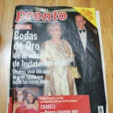 Coleccionismo de Revista Pronto: AÑO 1997 1334 CHABELI ANGEL GATO PILAR MIRÓ ANA DUATO SHARON STONE JORGE SANZ LINA MORGAN. Lote 242004745