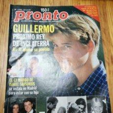 Coleccionismo de Revista Pronto: AÑO 1997 1325 ROCÍO JURADO MANOLO ESCOBAR ARANTXA SÁNCHEZ VICARIO MARIA LUISA MERLO DEL MONTE. Lote 242005365