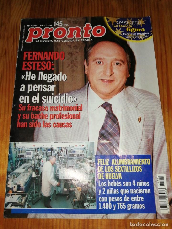 AÑO 1996 1284 FERNANDO ESTESO IMPERIO ARGENTINA ANA OBREGON MARUCHI RIPOLL CAMILA ROCÍO CARRASCO (Papel - Revistas y Periódicos Modernos (a partir de 1.940) - Revista Pronto)