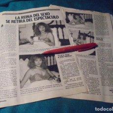Coleccionismo de Revista Pronto: RECORTE : SUSANA ESTRADA, SE RETIRA . PRONTO, OCTBRE 1985 (#). Lote 243763040
