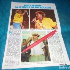 Coleccionismo de Revista Pronto: RECORTE : ROD STEWART. PRONTO, AGTO 1983 (#). Lote 244004215