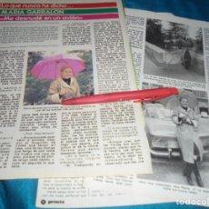 Coleccionismo de Revista Pronto: RECORTE : MARIA GARRALON, DE VERANO AZUL. PRONTO, ABRIL 1982 (#). Lote 244004740
