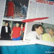 Coleccionismo de Revista Pronto: RECORTE : LOS PAYASOS DE LA TELE, SE RETIRAN. PRONTO,MAYO 1983(#). Lote 244007915