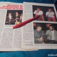 Collectionnisme de Magazine Pronto: RECORTE : RECITAL DESPEDIDA DE MOCEDADES. PRONTO, MARZO 1984(#). Lote 244471810