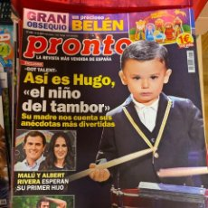 Coleccionismo de Revista Pronto: REVISTA PRONTO Nº 2484 / 2019 MALU / SUSANNA GRISSO / PAULA ECHEVARRIA / CAN YAMAN/TAMARA FALCO ETC.. Lote 244556400