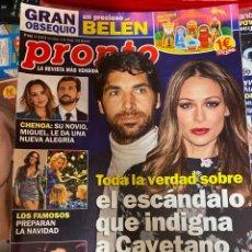 Coleccionismo de Revista Pronto: REVISTA PRONTO Nº 2485 / 2019 CHENOA / ANA DE ARMAS / IÑAKI GABILONDO / ENRIQUE IGLESIAS / ETC.. Lote 244556645