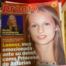 Coleccionismo de Revista Pronto: REVISTA PRONTO Nº 2476 / 2019 TAMARA FALCÓ / CHENOA / NADAL / ISABEL PANTOJA / LYDIA BOSCH / ETC.. Lote 244556935