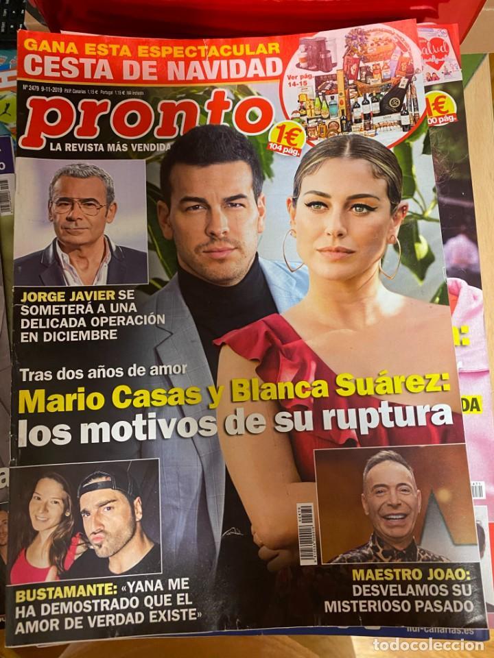 REVISTA PRONTO Nº 2479 / 2019 MARIO CASAS / BUSTAMANTE / ISABEL PANTOJA / PREYSLER/MIGUEL BOSE/ ETC. (Papel - Revistas y Periódicos Modernos (a partir de 1.940) - Revista Pronto)