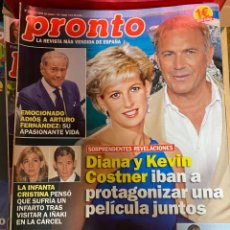 Coleccionismo de Revista Pronto: REVISTA PRONTO Nº 2462 / 2019 ARTURO FERNANDEZ / LUCIA MIEGUEL BOSE / SERGIO RAMOS / LADY DI / ETC.. Lote 244557930