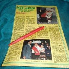 Collectionnisme de Magazine Pronto: RECORTE : ROCIO JURADO REGRESA DE MEXICO. PRONTO, ABRIL 1979(#). Lote 244674775