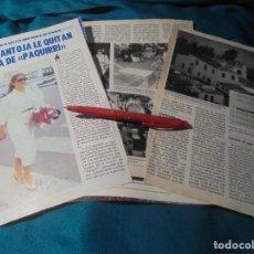 Coleccionismo de Revista Pronto: RECORTE : A ISABEL PANTOJA, LE QUITAN LA FINCA DE PAQUIRRI. PRONTO, MAYO 1987(#). Lote 244705490
