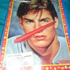 Coleccionismo de Revista Pronto: RECORTE : MINI POSTER : TOM CRUISE. PRONTO, MAYO 1987(#). Lote 244705925