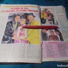Coleccionismo de Revista Pronto: RECORTE : EL GRUPO, PUTURRU DE FUA. PRONTO, ABRIL 1987(#). Lote 244706075