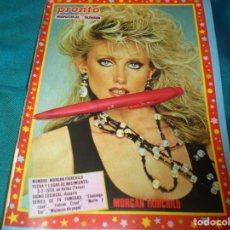 Coleccionismo de Revista Pronto: RECORTE : MINIPOSTER : MORGAN FAIRCHILD. PRONTO, ABRIL 1987(#). Lote 244706260