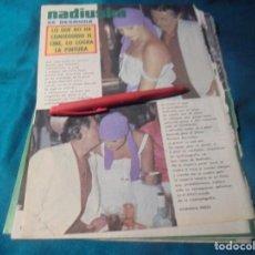 Coleccionismo de Revista Pronto: RECORTE : NADIUSKA SE DESNUDA. PRONTO, SPTMBRE 1976 (#). Lote 244726165