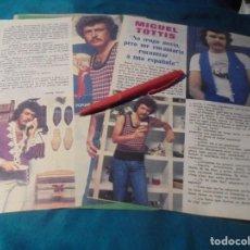 Coleccionismo de Revista Pronto: RECORTE : MIGUEL TOTTIS. PRONTO, SPTMBRE 1976 (#). Lote 244726480