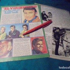 Coleccionismo de Revista Pronto: RECORTE : LA SERIE, EL VIRGINIANO. PRONTO, SPTMBRE 1976 (#). Lote 244726560