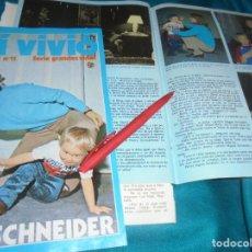 Coleccionismo de Revista Pronto: RECORTE : ASI VIVIO : ROMY SCHNEIDER. CAP. 11. PRONTO, ABRIL 1984 (#). Lote 244999780