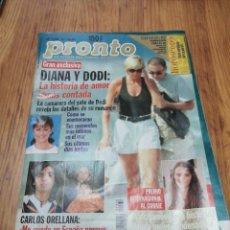 Coleccionismo de Revista Pronto: AÑO 1997 1338 LINA MORGAN CARMEN VIJANDE ORDOÑEZ MARTA ROBLES ANDRÉS PAJARES PENELOPE CRUZ APELES. Lote 245176045