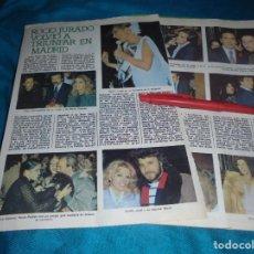 Collectionnisme de Magazine Pronto: RECORTE : ROCIO JURADO, TRIUNFA EN MADRID. MARIA SALERNO. MARIA JIMENEZ. PRONTO, ENERO 1979(#). Lote 245367875