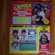 Coleccionismo de Revista Pronto: REVISTA PRONTO 18 / 02/ 1980 POSTER LA BATALLA DE LOS PLANETAS . LLEVA CROMOS FÚTBOL. Lote 245601780