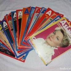 Coleccionismo de Revista Pronto: COLECCIONABLE COMPLETO DE PRONTO, 16 FASCICULOS, ASI VIVIÓ GRACE KELLY, SERIE GRANDES VIDAS.. Lote 246734860