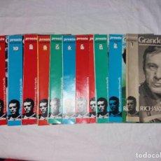 Coleccionismo de Revista Pronto: COLECCIONABLE COMPLETO DE PRONTO, 12 FASCICULOS, GRANDES VIDAS. RICHARD BURTON. Lote 246736350