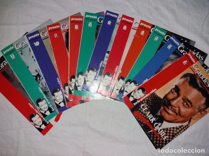 COLECCIONABLE COMPLETO DE PRONTO, 12 FASCICULOS, GRANDES VIDAS. CLARK GABLE (Papel - Revistas y Periódicos Modernos (a partir de 1.940) - Revista Pronto)