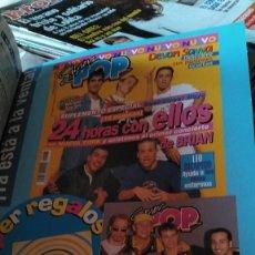 Coleccionismo de Revista Pronto: LOTE DE PROMOCIONES DE SUPER POP Y NUEVO VALE DE BACKSTREET BOYS OFRECIDAS EN LA REVISTA PRONTO. Lote 251241665