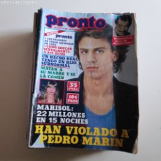 Collectionnisme de Magazine Pronto: PRONTO 430 MARI CRUZ SORIANO PACA GABALDON PEDRO MARIN MARISOL ANTONIO FLORES TOM & JERRY RAMONCIN. Lote 253007310