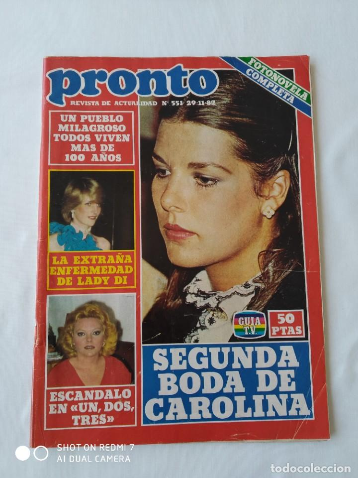 Coleccionismo de Revista Pronto: 2x Revista Pronto no.551 y 555 1982, poster E.T - Foto 2 - 253097420