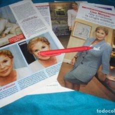 Coleccionismo de Revista Pronto: RECORTE : LINA MORGAN, EXCELENTE MOMENTO. PRONTO, ENERO 1999(#). Lote 253104415