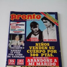 Colecionismo da Revista Pronto: REVISTA PRONTO Nº 428 AÑO 1980. Lote 257897815