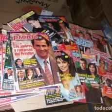 Coleccionismo de Revista Pronto: LOTE DE REVISTAS PRONTO. Lote 260441015