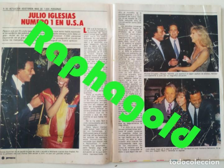 Coleccionismo de Revista Pronto: Revi PRONTO 568 Julio Iglesias Camilo Sesto Massiel Ana Torroja Mecano Sonia Martínez Remedios Amaya - Foto 2 - 261232505
