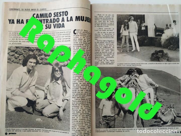 Coleccionismo de Revista Pronto: Revi PRONTO 568 Julio Iglesias Camilo Sesto Massiel Ana Torroja Mecano Sonia Martínez Remedios Amaya - Foto 3 - 261232505