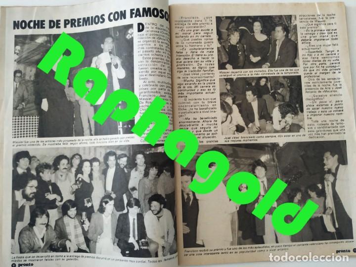 Coleccionismo de Revista Pronto: Revi PRONTO 568 Julio Iglesias Camilo Sesto Massiel Ana Torroja Mecano Sonia Martínez Remedios Amaya - Foto 4 - 261232505
