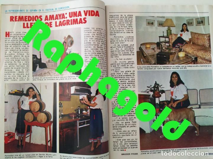 Coleccionismo de Revista Pronto: Revi PRONTO 568 Julio Iglesias Camilo Sesto Massiel Ana Torroja Mecano Sonia Martínez Remedios Amaya - Foto 5 - 261232505