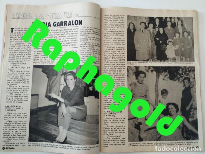 Coleccionismo de Revista Pronto: Revi PRONTO 568 Julio Iglesias Camilo Sesto Massiel Ana Torroja Mecano Sonia Martínez Remedios Amaya - Foto 6 - 261232505