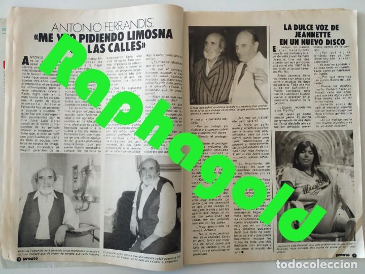 Coleccionismo de Revista Pronto: Revis PRONTO 581 Sara Montiel María Jiménez Marisol Arturo Fernández Alfredo Landa Imperio Argentina - Foto 3 - 261233170