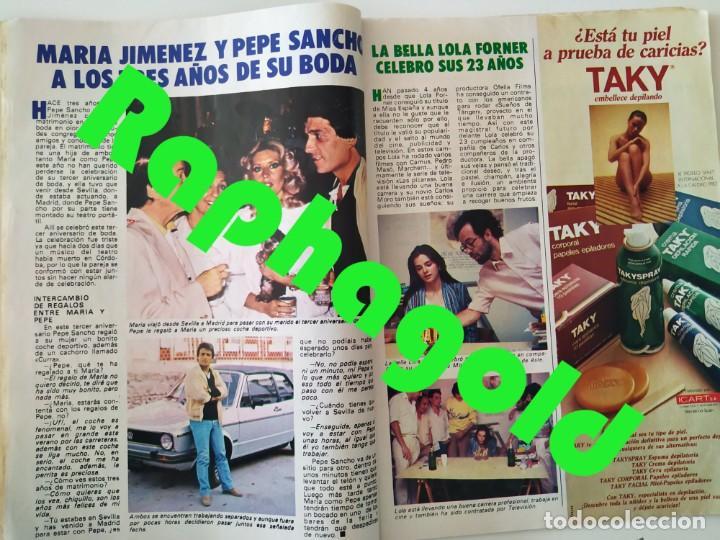 Coleccionismo de Revista Pronto: Revis PRONTO 581 Sara Montiel María Jiménez Marisol Arturo Fernández Alfredo Landa Imperio Argentina - Foto 5 - 261233170