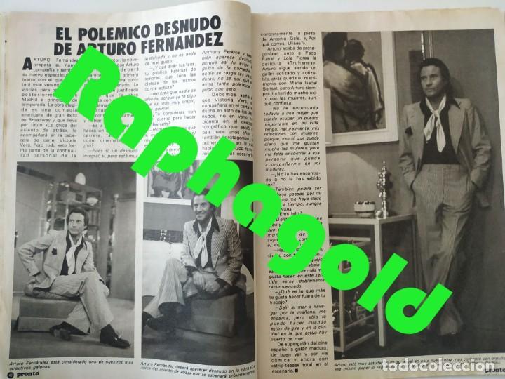 Coleccionismo de Revista Pronto: Revis PRONTO 581 Sara Montiel María Jiménez Marisol Arturo Fernández Alfredo Landa Imperio Argentina - Foto 7 - 261233170
