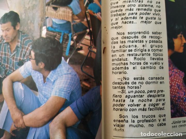Coleccionismo de Revista Pronto: Revis PRONTO 581 Sara Montiel María Jiménez Marisol Arturo Fernández Alfredo Landa Imperio Argentina - Foto 12 - 261233170