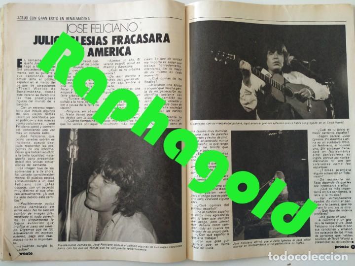 Coleccionismo de Revista Pronto: Revis PRONTO 581 Sara Montiel María Jiménez Marisol Arturo Fernández Alfredo Landa Imperio Argentina - Foto 9 - 261233170