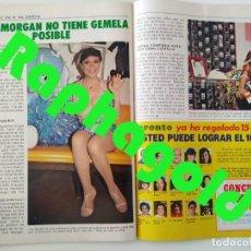Coleccionismo de Revista Pronto: REVISTA PRONTO 610 LINA MORGAN PLÁCIDO DOMINGO NORMA DUVAL GRACE KELLY MILIKI CHANQUETE LIZ TAYLOR. Lote 261237940