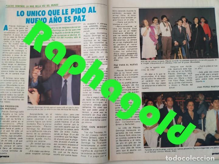 Coleccionismo de Revista Pronto: Revista PRONTO 610 Lina Morgan Plácido Domingo Norma Duval Grace Kelly Miliki Chanquete Liz Taylor - Foto 2 - 261237940