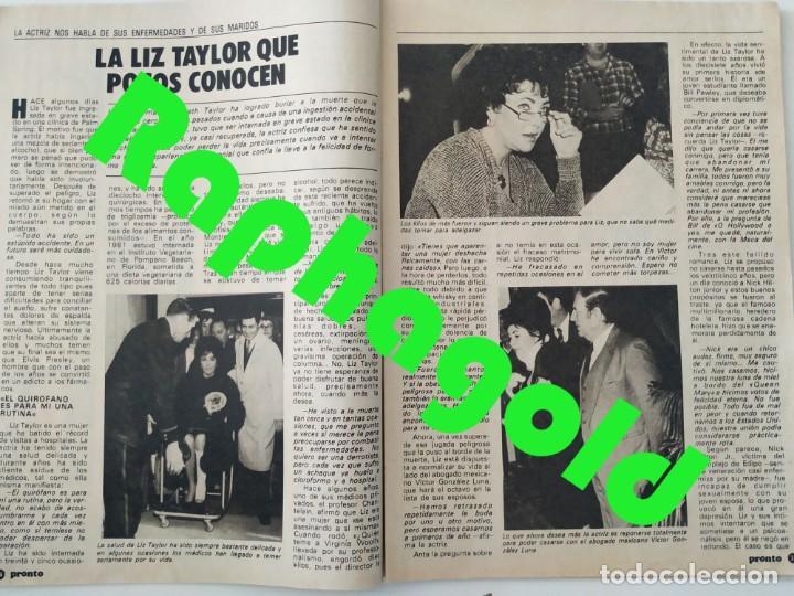 Coleccionismo de Revista Pronto: Revista PRONTO 610 Lina Morgan Plácido Domingo Norma Duval Grace Kelly Miliki Chanquete Liz Taylor - Foto 4 - 261237940