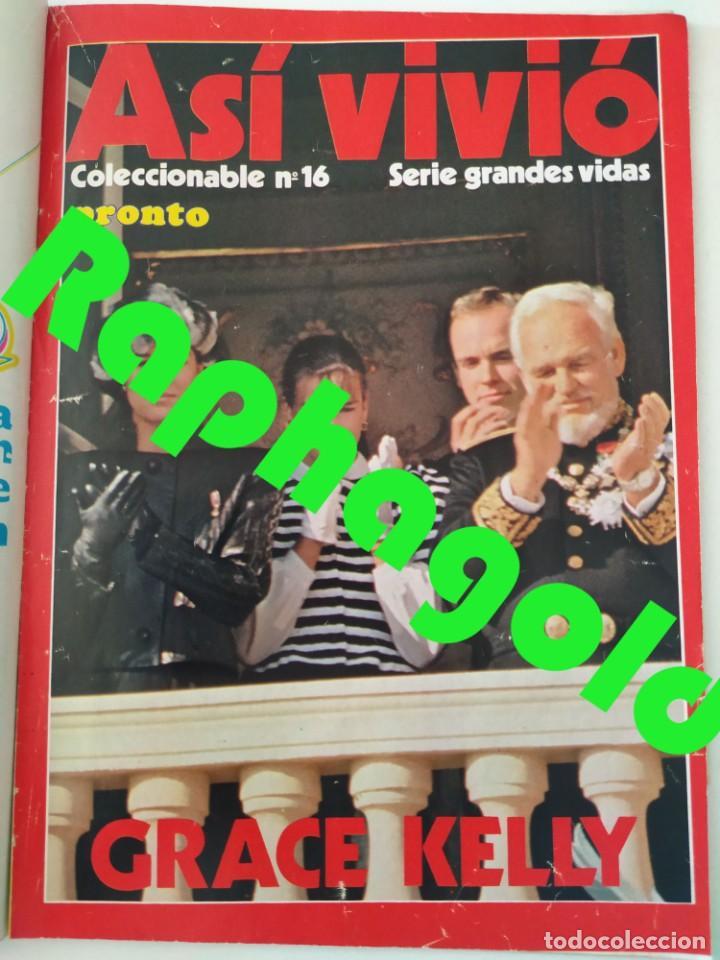 Coleccionismo de Revista Pronto: Revista PRONTO 610 Lina Morgan Plácido Domingo Norma Duval Grace Kelly Miliki Chanquete Liz Taylor - Foto 6 - 261237940