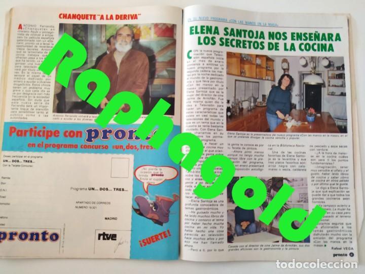Coleccionismo de Revista Pronto: Revista PRONTO 610 Lina Morgan Plácido Domingo Norma Duval Grace Kelly Miliki Chanquete Liz Taylor - Foto 7 - 261237940