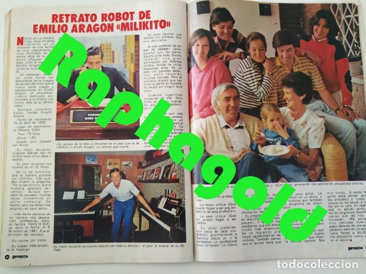 Coleccionismo de Revista Pronto: Revista PRONTO 610 Lina Morgan Plácido Domingo Norma Duval Grace Kelly Miliki Chanquete Liz Taylor - Foto 8 - 261237940